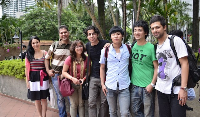 International students in Malaysia