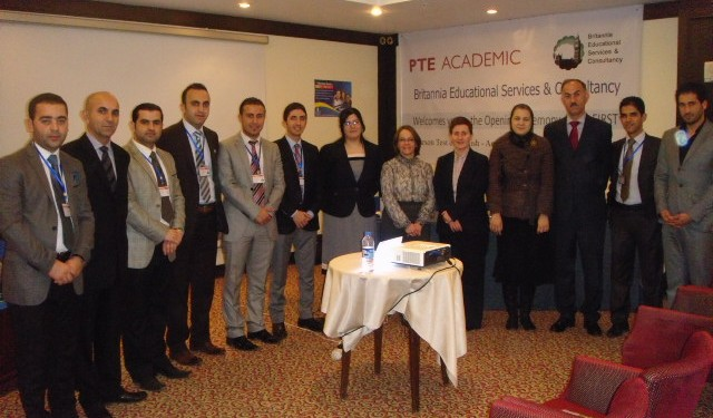 Pearson opened its first language testing centre last month in Erbil, Iraq