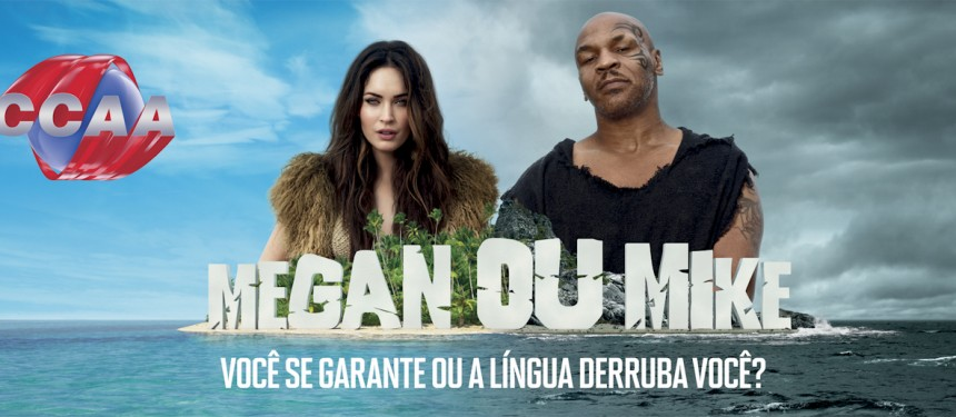 Megan Fox and Mike Tyson star in CCAA's latest commercial