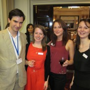 Alex Proudfoot, Study UK with ladies from English UK