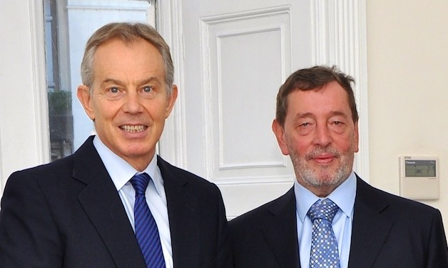 Former UK prime minister Tony Blair and education secretary David Blunkett discussed the importance of international education to the UK