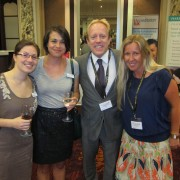 L-R Jodie, English UK, Mark and Karen from ELC Group