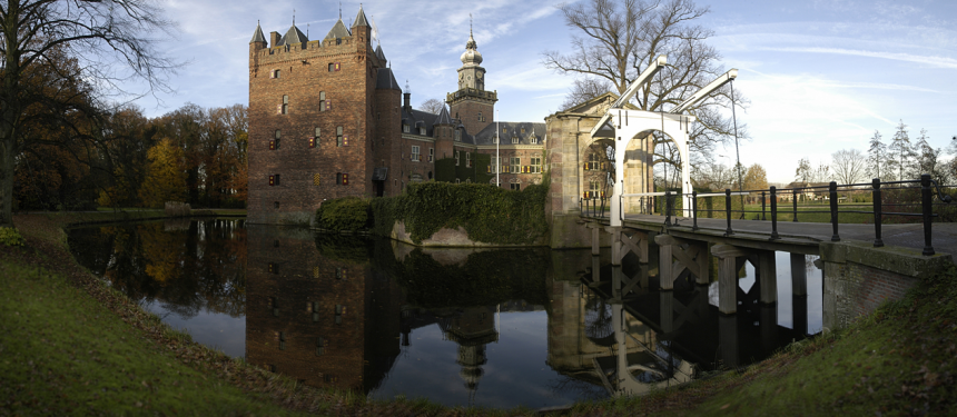 The Castle located on Nyenrode Business Universitat campus