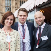 Hannah Alexander; Nick Stevenson and James Cavell