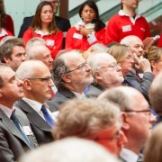 60 UK university vice chancellors attended a follow on ceremony for Santander's student Entrepreneurship Award