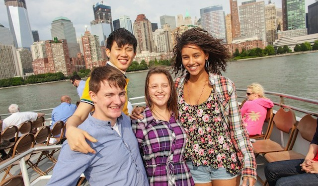 Rennert International Language School students in New York