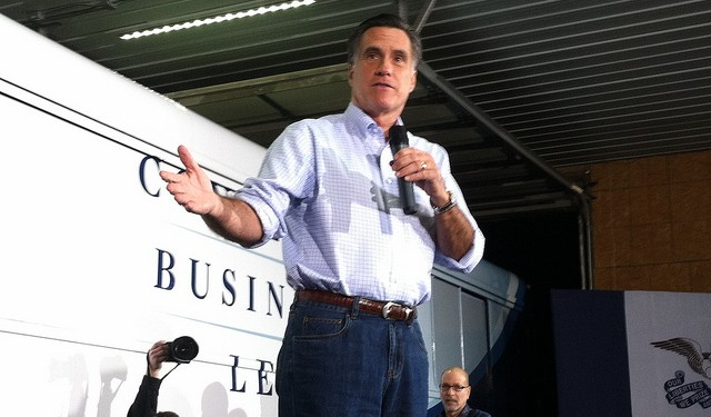 Romney is echoing the Democrat call for key international talent to be allowed to remain in-country. Photo: WEBN-TV