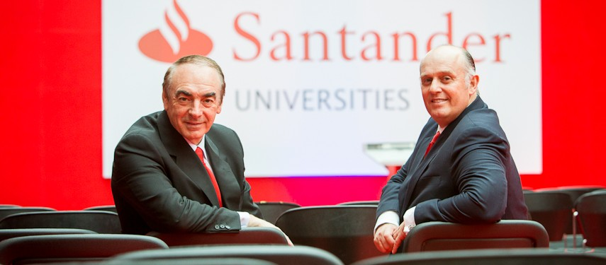 José Antonio Villasante (L) and Luis Juste (R)