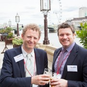 Steve Phillips, Regent's College with Blair Byfield of Malvern House London