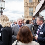 BETA members and invitees gathered on the terrace of the House of Lords