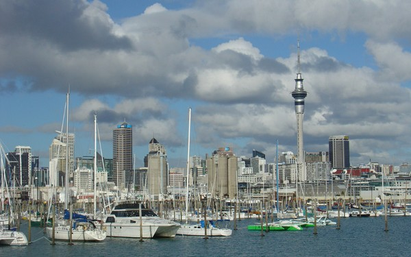 Auckland, 'City of Sails': photo: Education New Zealand