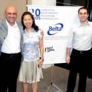 Belta's team - Carlos Robles, Antonio Bacelar (regional coordinator), Carla Kawano, Gerlado Neto, Mariglan Gabarra and Maura Le∆o