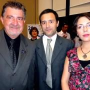 Carlos Robles with Alvaro Camargo and Carolina Villar from ProChile