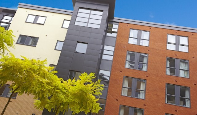 At Edward Street hall, Sheffield, five bedroom apartments start at £237,500 with projected gross yields at 8.65%