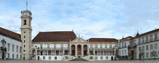 The Universidade de Coimbra, established in 1290 is Portugal's oldest university and one of the country's largest
