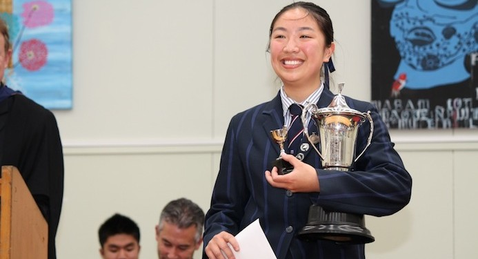 Head Girl Louise Kuo1
