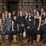 US Assistant Secretary of State Ann Stock with Fulbright Students and Scholars from 13 countries