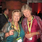 Judith Hands of Torquay International School in the UK with Barbara Jaeschke of GLS Sprachenzentrum in Germany