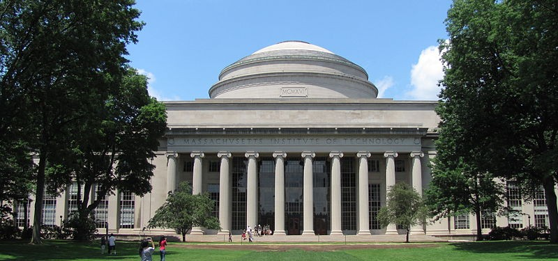 MIT's building 10 and the Great Dome. MIT's spike in international faculty propelled it past Cambridge and Harvard University to top place