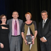 Industry Initiative, First Impressions Resources, accepting the award – Sue Freeman and Mike Wallace