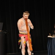 The conference commenced with an Indigenous Welcome performed by Mathew Doyle