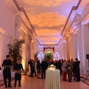 The fantastic venue of the Orangery at Kensington Gardens