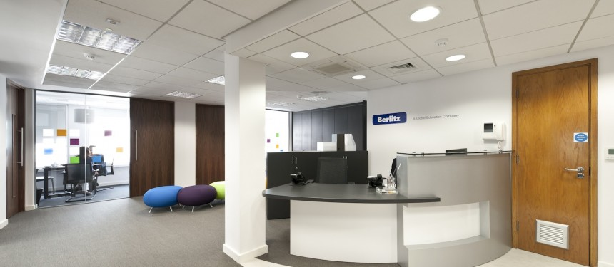 Berlitz's new London executive centre opened in July