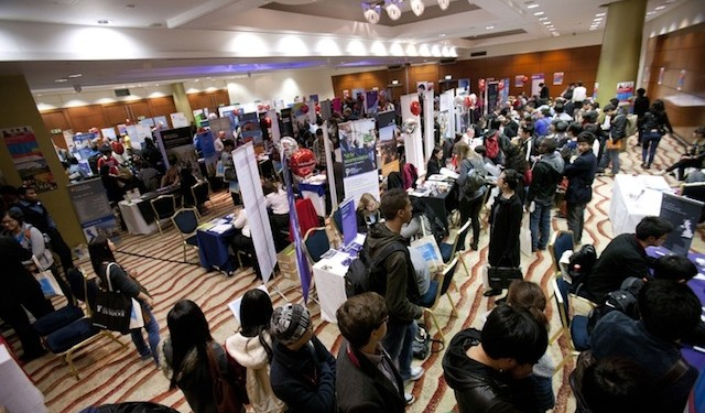 More than 1,500 students and 70 UK universities attended the Study Group University Fair