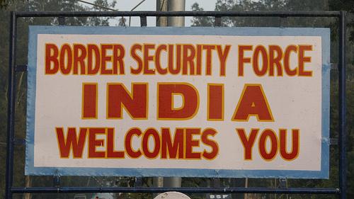IndiaBorderSign