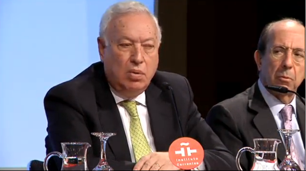 Minister of Foreign Affairs, José Manuel García-Margallo