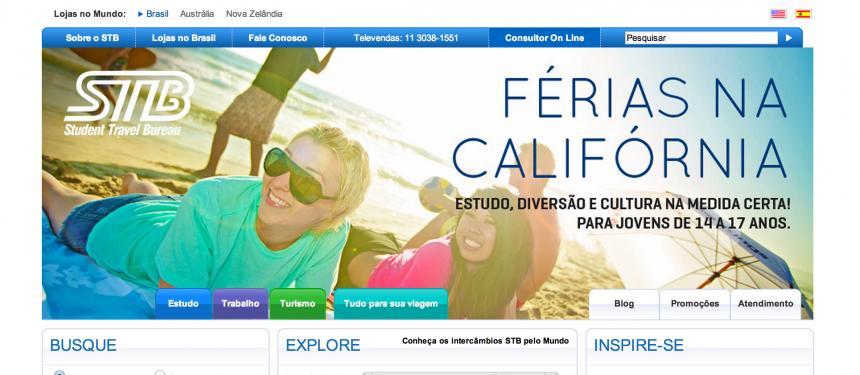 STB is a market leading educational agency in Brazil