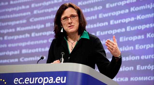 Cecilia Malmström of the European Commission proposes a 60-day visa processing guarantee