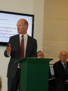 Minister for Universities and Science David Willetts announced the strategy in London