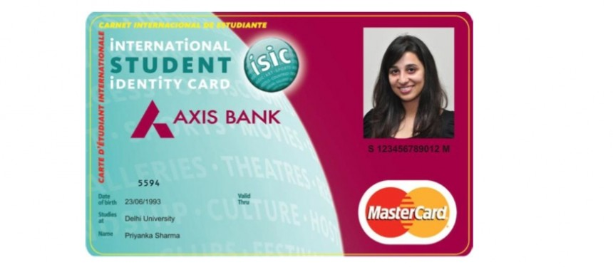 What is isic forex card