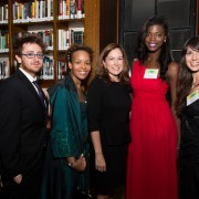 with Fulbright Gilman scholars