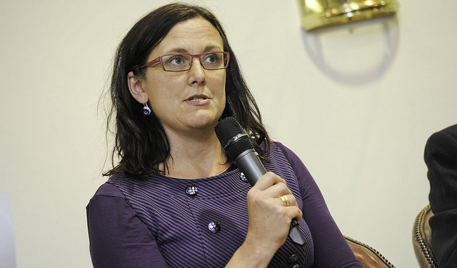 MEP Cecilia Malmström has criticised Sweden's tough student visa regulations. Photo:  Security & Defence Agenda.