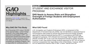 """Crackdown on USA's """"risky"""" study-work programme"""