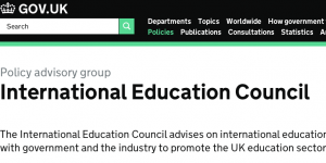 UK's International Ed Council focus: FE, post-study work, welcome