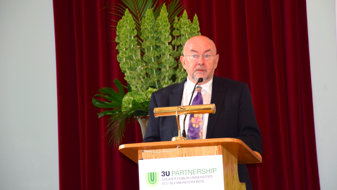 Ireland's Minister for Education Ruairi Quinn's address at the launch of the 3U Pathway University Foundation Programme