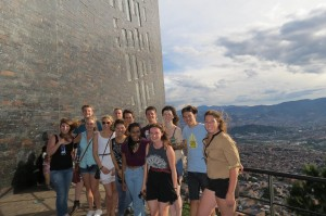 A group of intern students enjoying a new way to get to know a culture overseas. Photo: The Intern Group