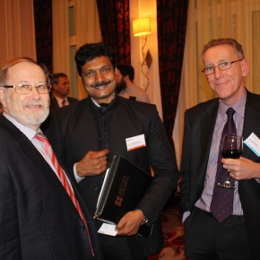 Anil Subramanian, Ministry of Rural Development in India (centre)