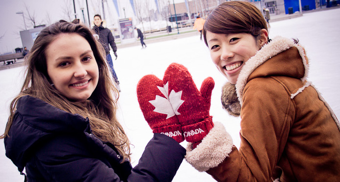 International students in Toronto, Canada