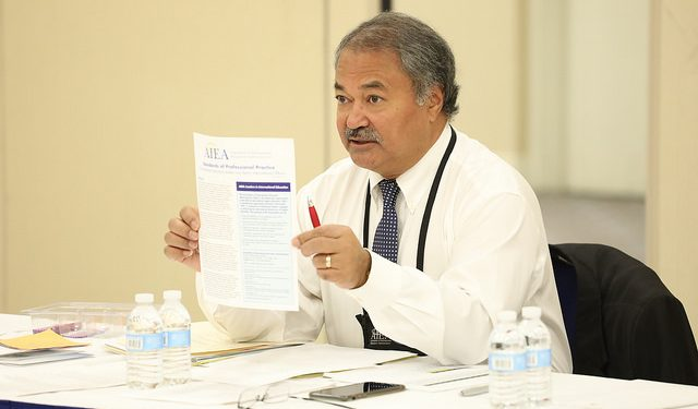 AIEA, senior international officers