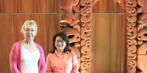 Lesley McDonald and Mary Ann Seow, ISANA, NZ and Aus