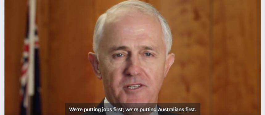 Australia, 457 skilled worker visa