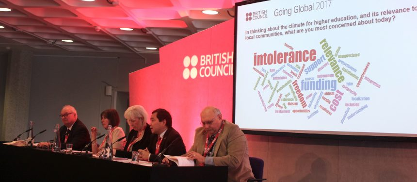 Panellists at the British Council's Going Global conference urge universities to publicly engage