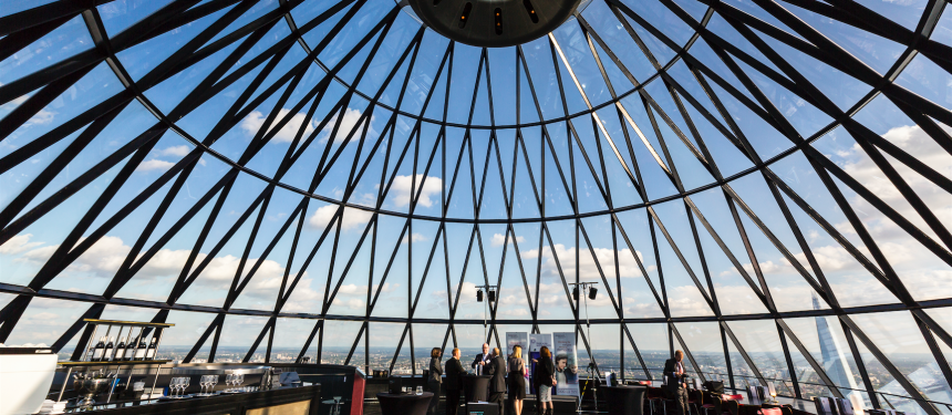 The Gherkin will be the venue of The PIEoneers after-party