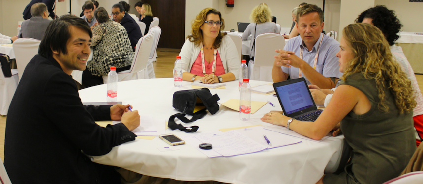 """The need to """"mainstream"""" initiatives aimed at including refugees within higher education and learn from counterpart institutions across Europe was explored at EAIE."""