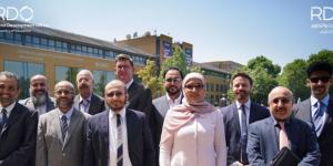 Saudi Arabian MoE visit UK to boost R&D