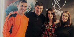 LILA* Liverpool partners with football legend